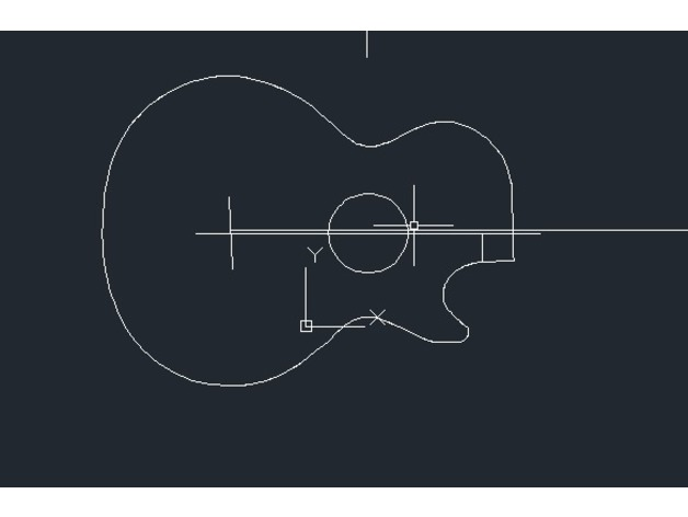 les paul outline by jpan thingiverse
