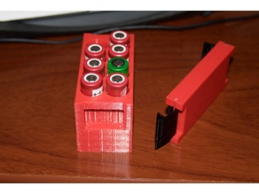 18650 x8 Battery Case Box for traveling V2