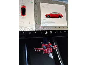 Toynami 1:100 Super Valkyrie mount for Tesla Model 3