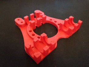 E3D v5 compatible Lm8uu X Carriage for Prusa Mendel