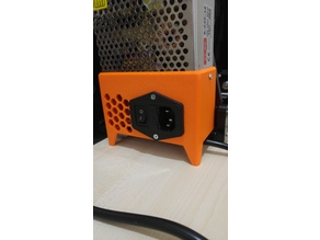 Anet A8 honeycomb Power Supply cover with switch