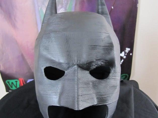 Batman Cowl 3d Printable By 3d Al Thingiverse