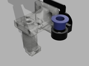 Inductive sensor adapter for Prusa i3