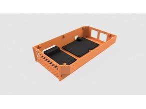 Electronics case, 2040 / D-bot, Raspberry Pi, RPi