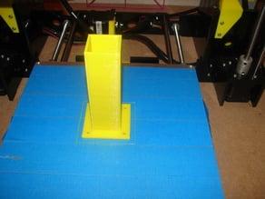 Simple table leg / Pied de table / 10cm