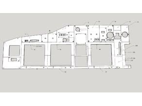 737 Main Instrument Panel for Homecockpit
