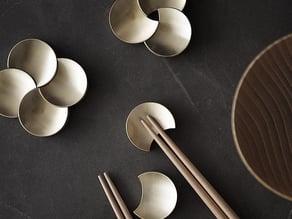 Flower Chopsticks holder - rests / holder /household/dinner/kitchen/dining/stand/Spoon/tableware