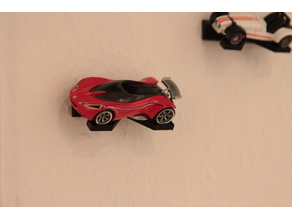 Toycar Wallmount Hotwheels & Matchbox