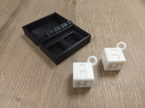Box with Hinge for Han Solo Dice (Print-in-Place)