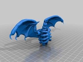 Tinkercad skeleton wings