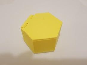Hexagonal Box with lid