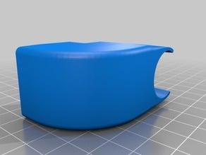 30 mm Fan duct 90 degree for e3d