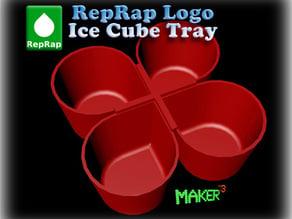 Reprap Logo Ice Cube Tray (Parametric)