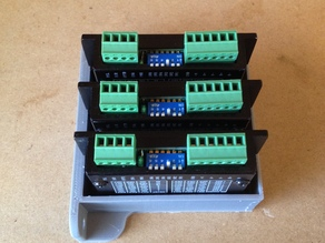 Stepper Driver tray for Lightobject M415B drivers