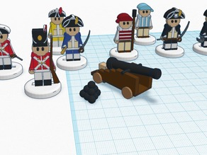 FlatMinis: Pirates & Sailors