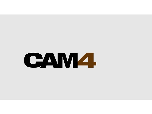 Cam4 3D logo by IntoAbyss - Thingiverse