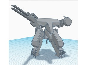 Metal Gear Rex (mostly fixed)