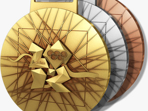 London 2012 Olympic medals (Front)