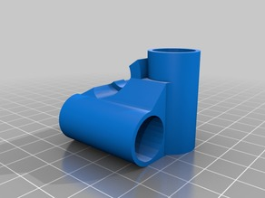 UM2 E3D-v6 minimal hotend mount for 8mm rod/15mm bearing