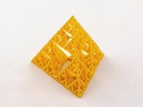 Sierpinski's Tetrahedra (Fractal Tetrahedra)