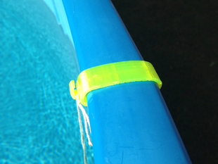 Swimming Pool Hand Rail Clips - Replacement Parts Modeled after a Existing One