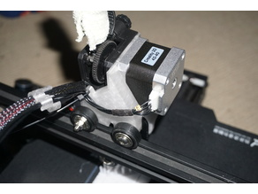 Ender3 direct titan extruder mounting bracket