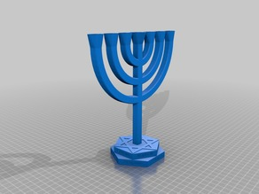 things tagged with menorah thingiverse rh thingiverse com