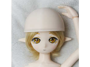 Kasca-style magnet joint doll_Extended parts_Helmet