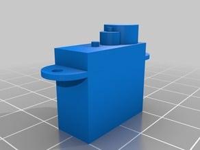 OpenSCAD 3.7G Microservo