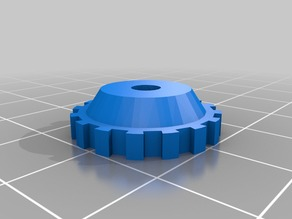 20 mm Knob for M3 Nyloc Nut for Leveling