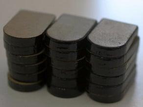 Laser-cut steno keys for Plover
