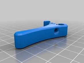 FlexiStruder mount plate 5mm prusa i3 frame