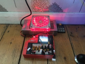 LED PSU case for LiPo chargers