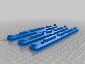 TronXY X5S Z axis mounts