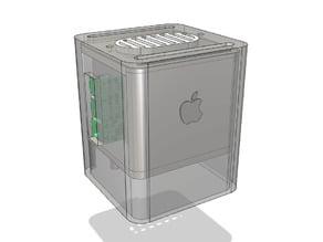 Raspberry pi (Macintosh) G4 Cube Mini (Raspberry Pi 2 + 3 Case)