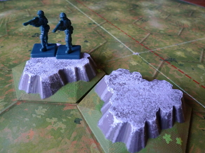 Mountain Tile for Memoir '44 Board Game