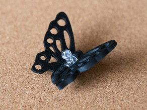 butterfly - push pin