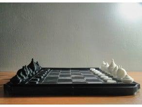Chess Board (Makruk Thai-Style)