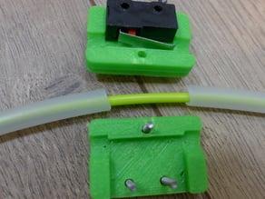 Microswitch filament runout sensor
