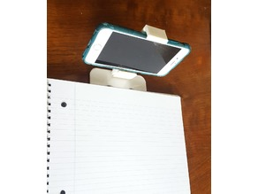 Notebook Mount Phone Display TO SCALE*