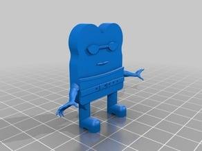Toast Man Action Figure