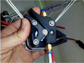B-Struder - Bowden extruder with 40Tgear + U604ZZ bearing for 1.75 filament