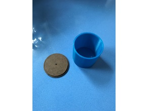 Casting flask 140 ml 5.5 cm ID, 6 cm high