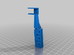 Prusa i3 MK3 x axis drag chain holder 7mm X 7mm
