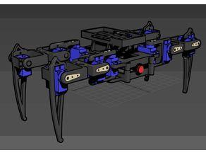 Easy plug SG90 Spider Robot