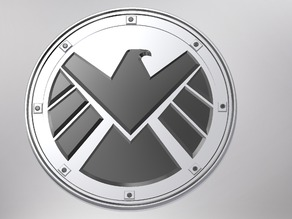 Marvels Agents Of Shield Logo / Badge