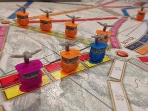 TTR Skyway Gondola Playing Pieces