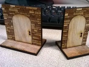 Tabletop Miniature Doorways - Closed