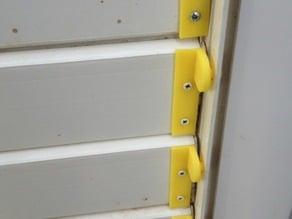 Clip persiana PVC - PVC clip blind