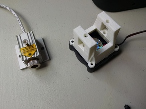 Mounts for JTech Photonics 2.8W Laser 3D Printer Upgrade Kit